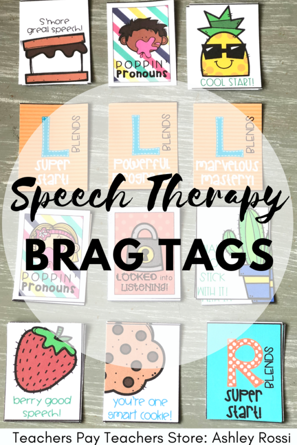 Using Brag Tags as a reward and motivation in Speech Therapy