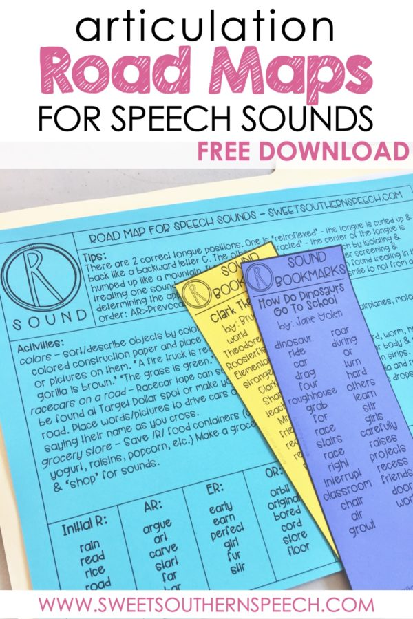 Articulation Road Maps Archives - Sweet Southern Speech