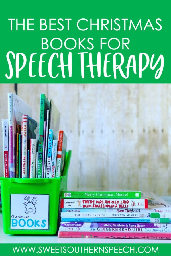 The best Christmas books to use in Speech Therapy