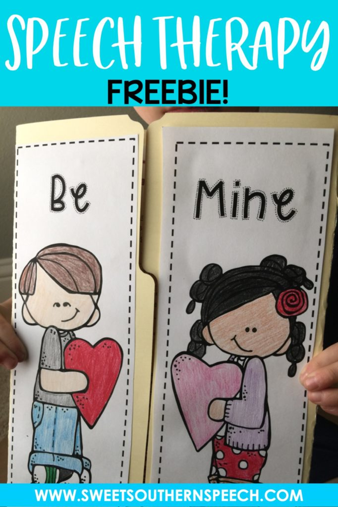 Free Valentine's Day Speech Therapy activities