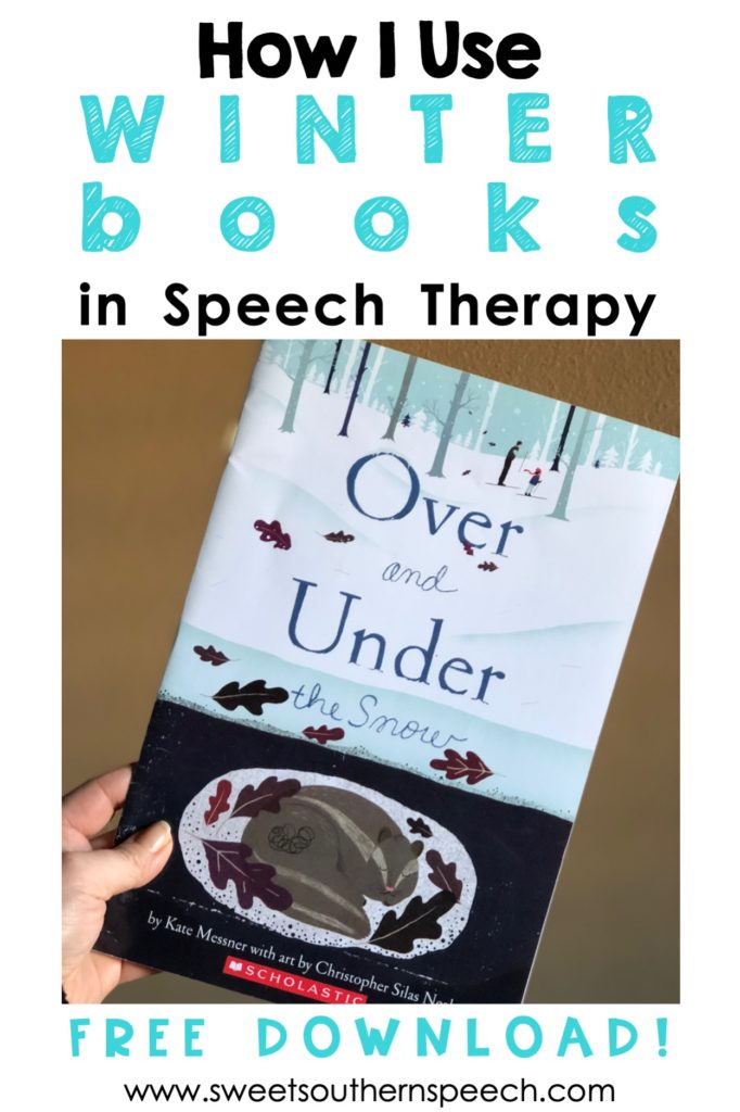Winter Books for speech and language