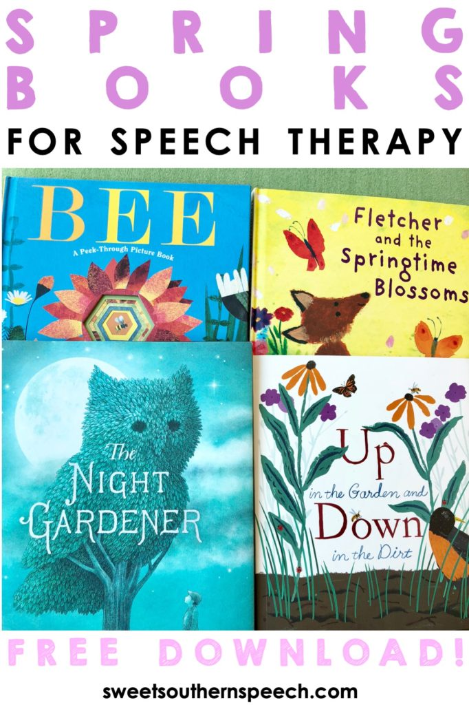 Spring Books for Speech and Language