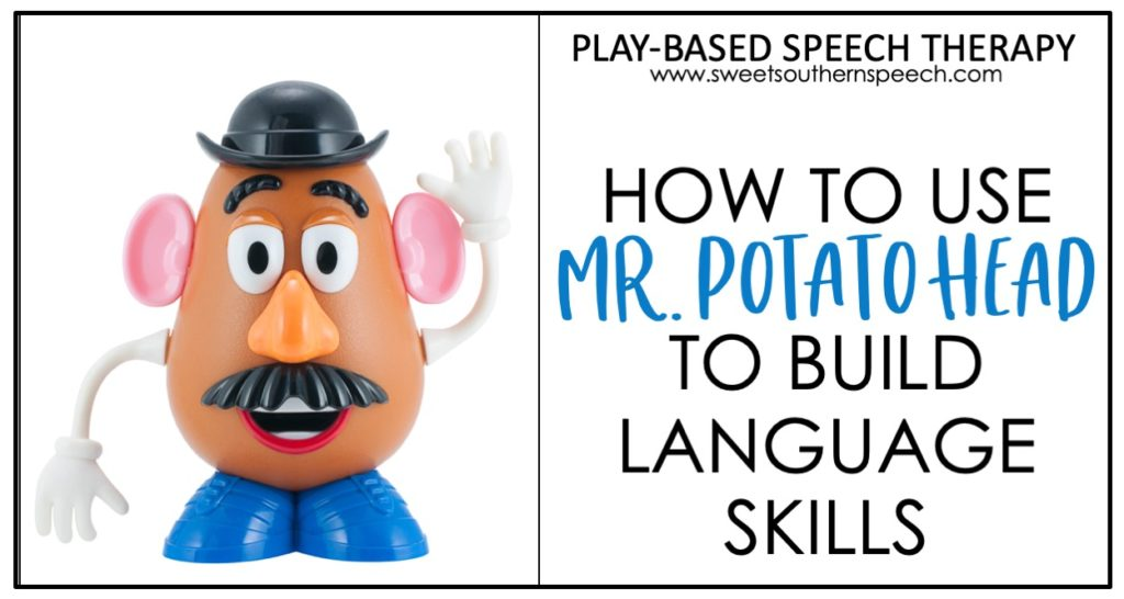 Mr. Potato Head in Speech Therapy