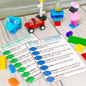 LEGO speech therapy activities