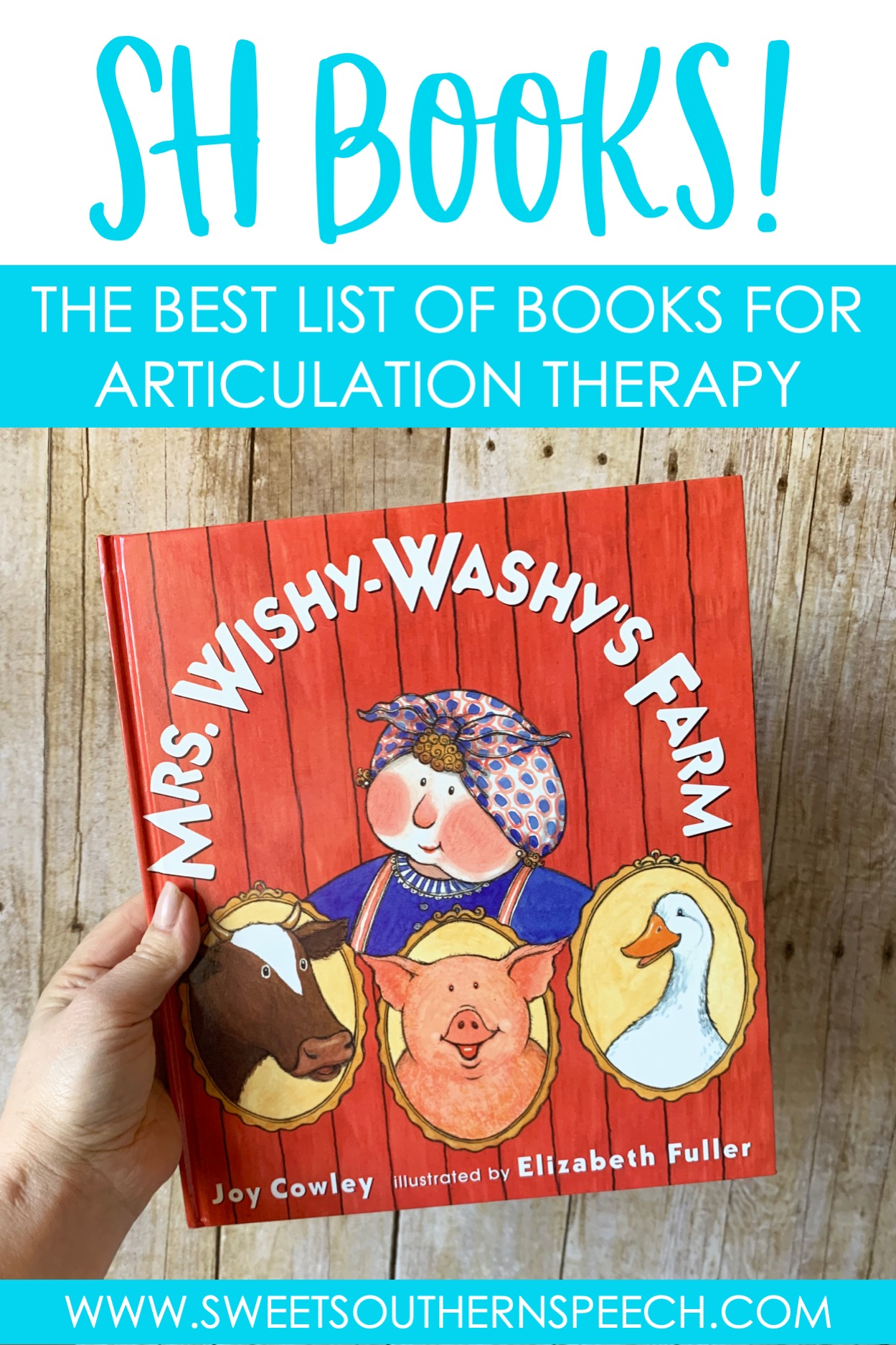 Sh Book List For Articulation Therapy Sweet Southern Speech
