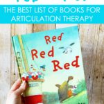 A FREE list of picture books to use in articulation therapy