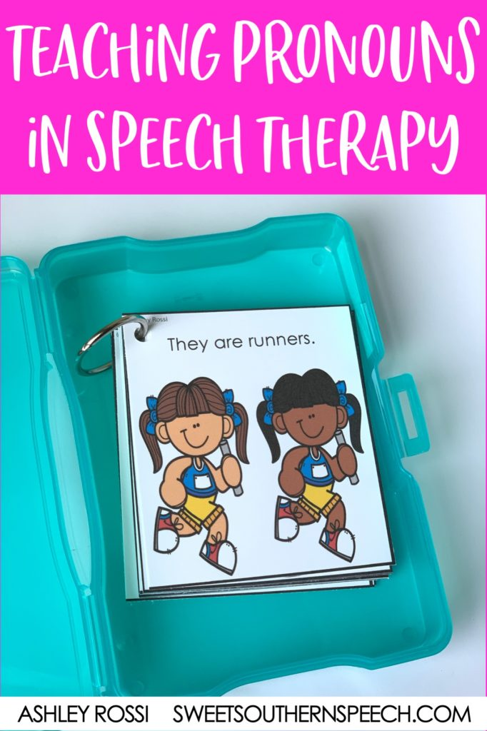 An evidence-based approach to working on pronouns in speech therapy