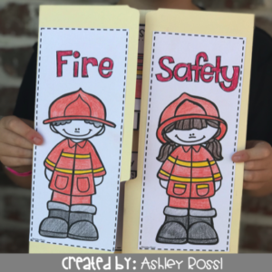 Download this Fire Safety Lap book!