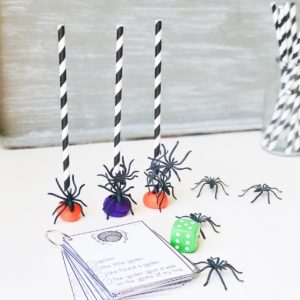 fun spider activity for speech therapy
