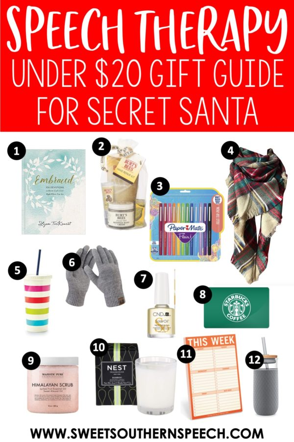 SLP coworker Christmas gift guide