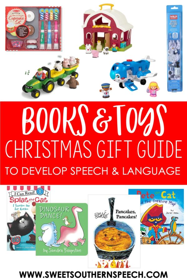 toy gift guide for speech and language