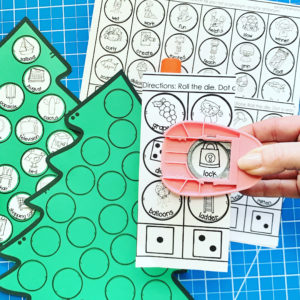 Dice and Dot Speech Therapy crafts