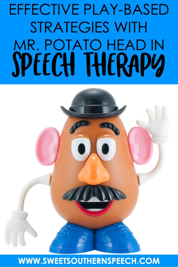 Play-Based preschool language therapy using Mr. Potato Head in Speech