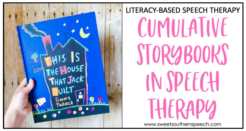 Cumulative Story books for speech therapy