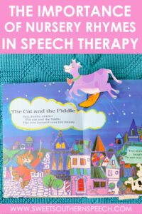 Using nursery rhymes in speech therapy