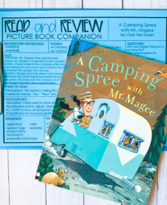 Summer book companions for speech therapy