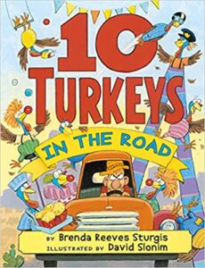 speech and language teaching concepts for 10 Turkeys in the Road in speech therapy