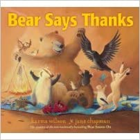 speech and language teaching concepts for Bear Says Thanks in speech therapy