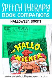 Halloween Books Speech Therapy