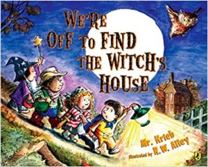 We're Off To Find The Witch's House in speech therapy
